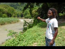 Daniel Gayle said that people in Kent Village who depend on the Rio Cobre have been suffering since the fish kill.