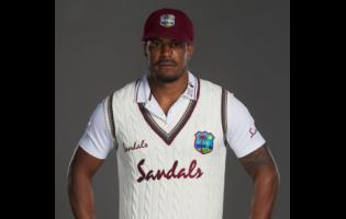 Shannon Gabriel of the West Indies poses for a portrait at Emirates Old Trafford on June 28, 2020, in Manchester, England.