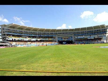 The majestic new northern stand at Sabina Park.